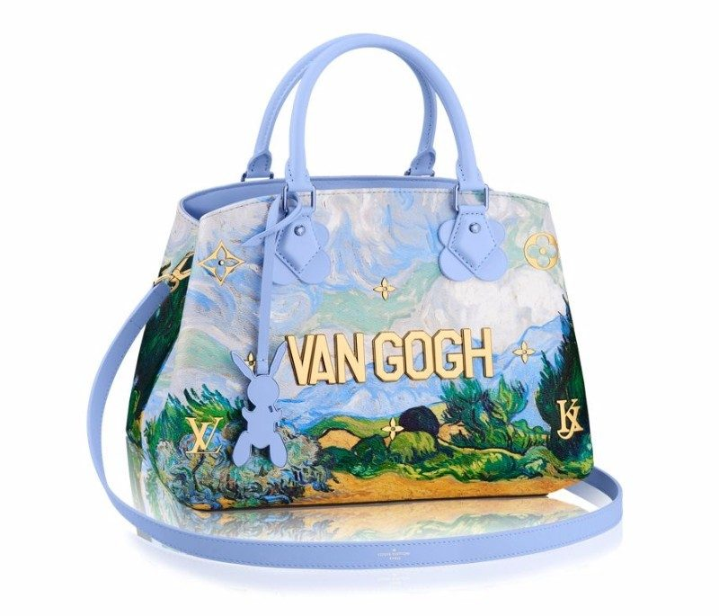 Masters LV x Koons Van Gogh Wheat Field With Cypresses Montaigne MM