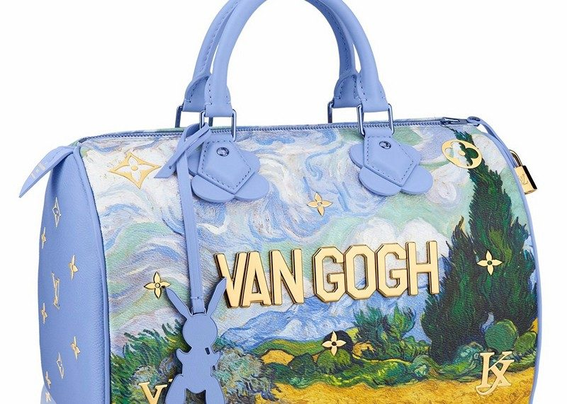 Masters LV x Koons Van Gogh Wheat Field With Cypresses Speedy 30