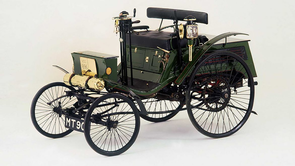 1896 Arnold Benz Motor Carriage