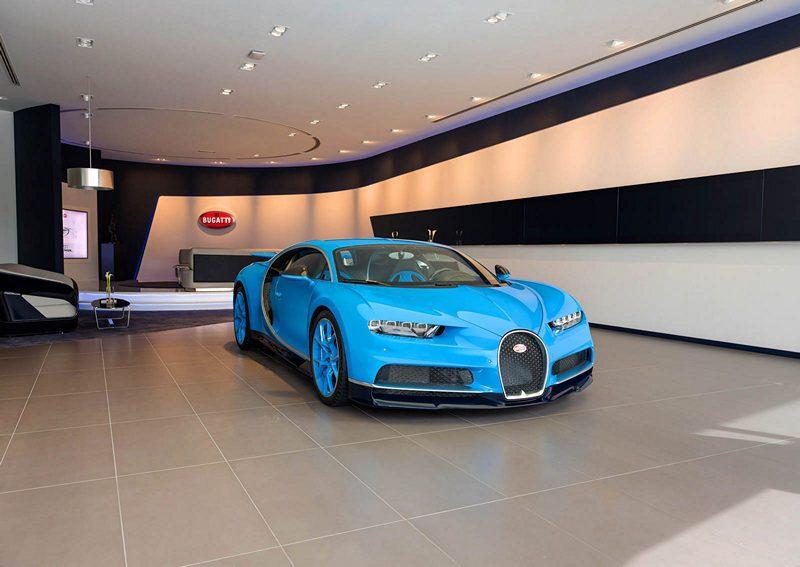 Bugatti Showroom Dubai