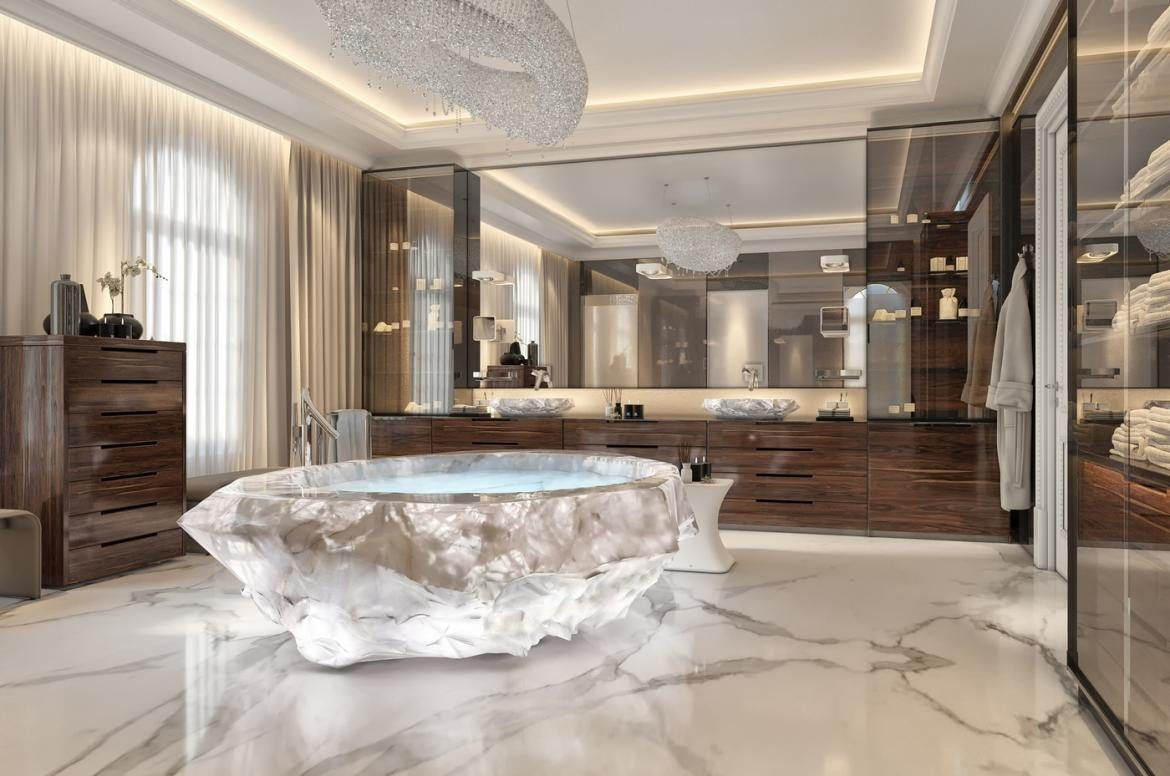 Crystal Rock Bathtub