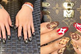 Luxury Brand Logo Manicure