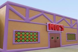 Inflatable Moe's Tavern