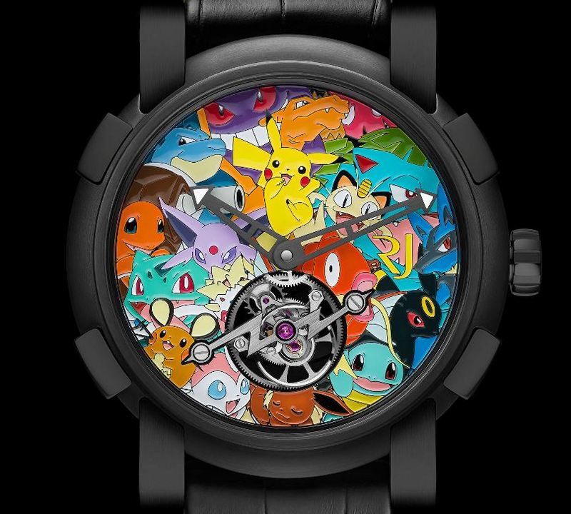 RJ-Romain Jerome Pokémon Watch
