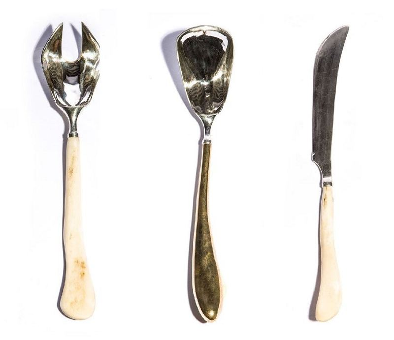 Rick Owens Sterling Silver Utensils