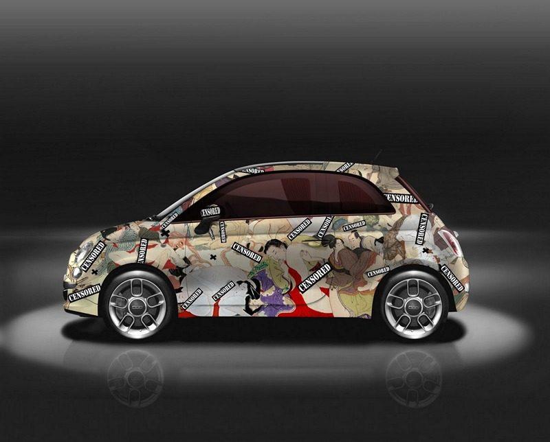 Garage Italia Kama-Sutra Fiat 500