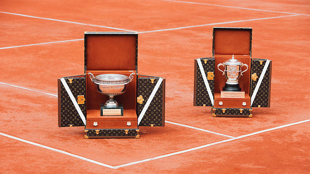 Louis Vuitton Roland-Garros Trophy Trunks