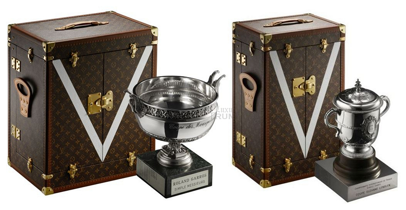 Louis Vuitton Roland-Garros Trophy Trunks