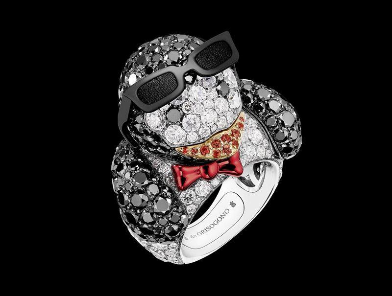 De Grisogono Crazymals Tux'Penguin