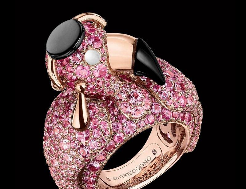 De Grisogono Crazymals Lady Flamingo