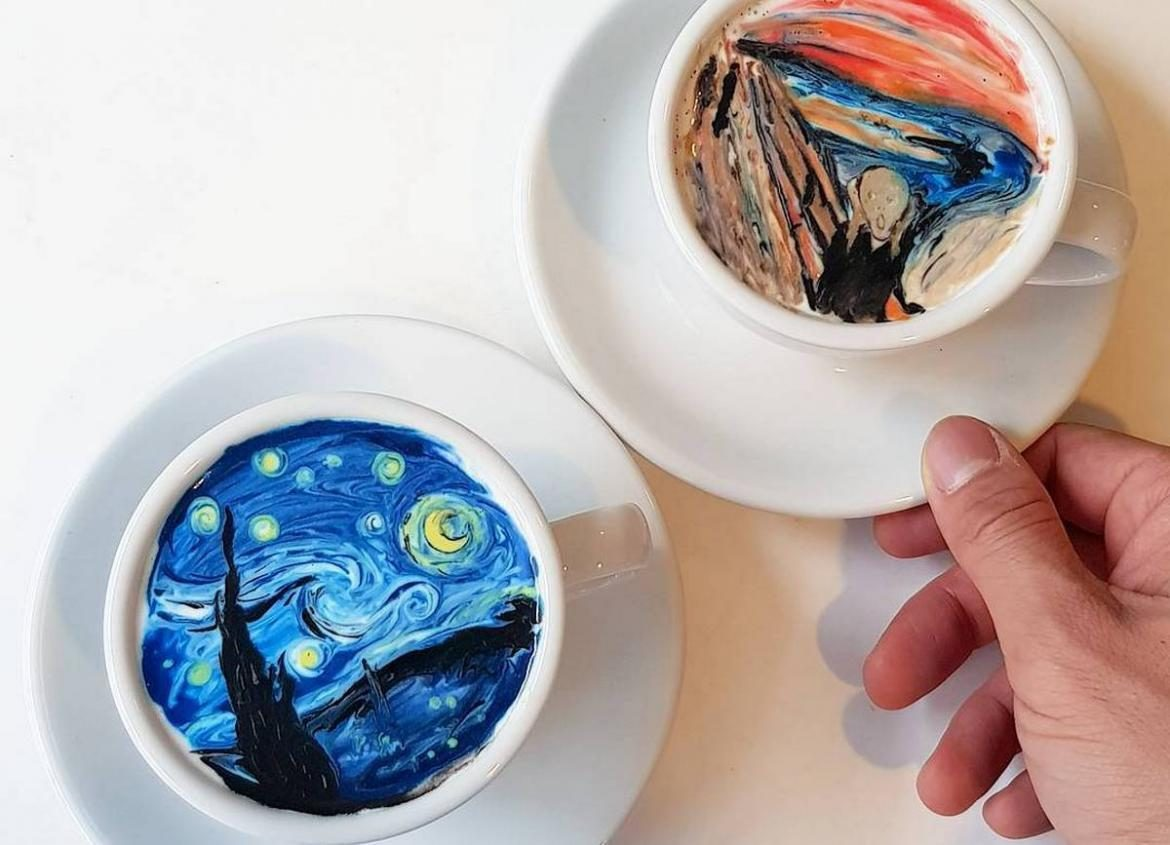 South Korea Artist Barista Creamart