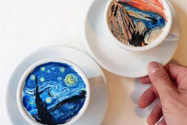 South Korea Artist Barista Creamart