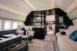 Winch Design Custom BBJ-1 Interior