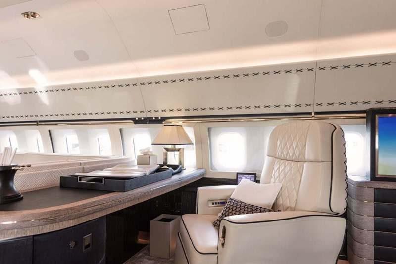 Winch Design Custom BBJ-1 Interior
