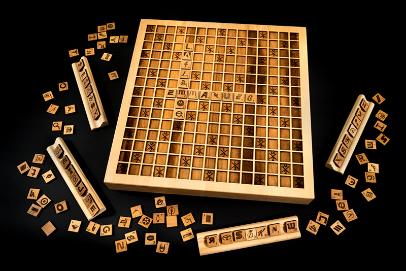 Emmanuel Laflamme Scrabble Corporate Edition