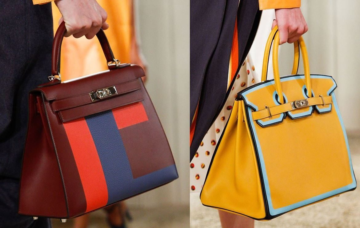 Colorful New Hermès Birkin And Kelly Handbags From Resort 2018 ... 0d15a337900bd