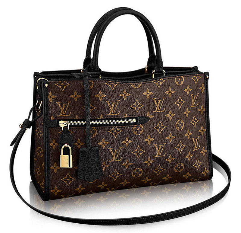 Louis Vuitton Popincourt Tote Black MM