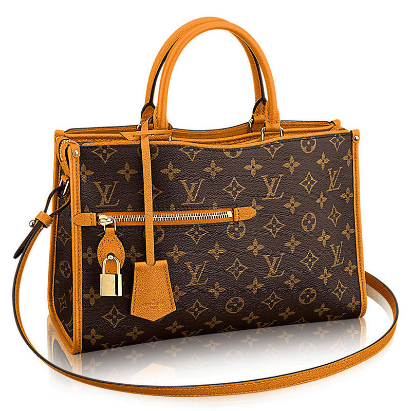 Louis Vuitton Popincourt Tote Orange MM