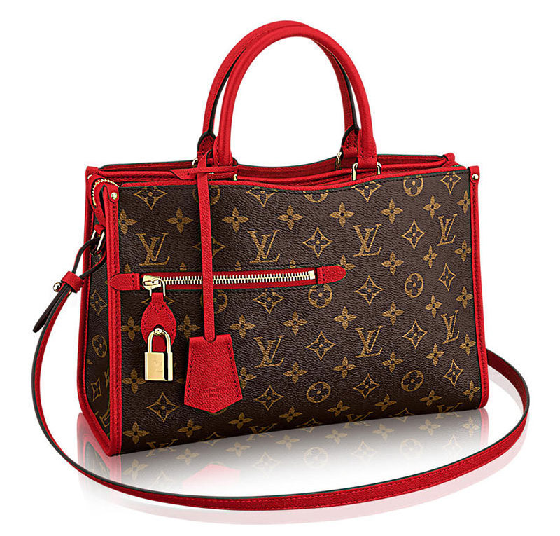Louis Vuitton Popincourt Tote Red PM