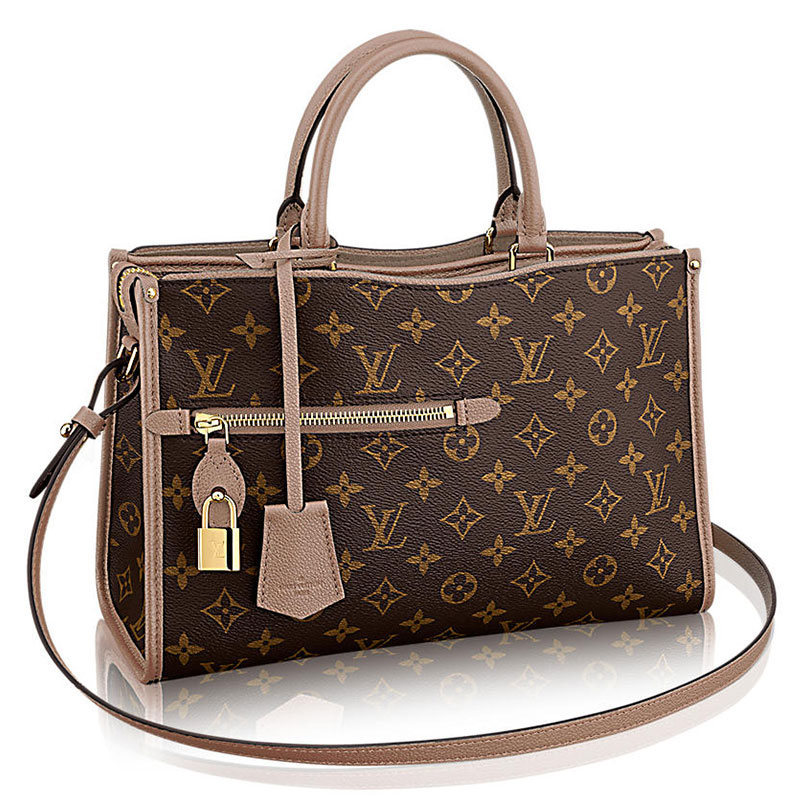 Louis Vuitton Popincourt Tote Taupe PM