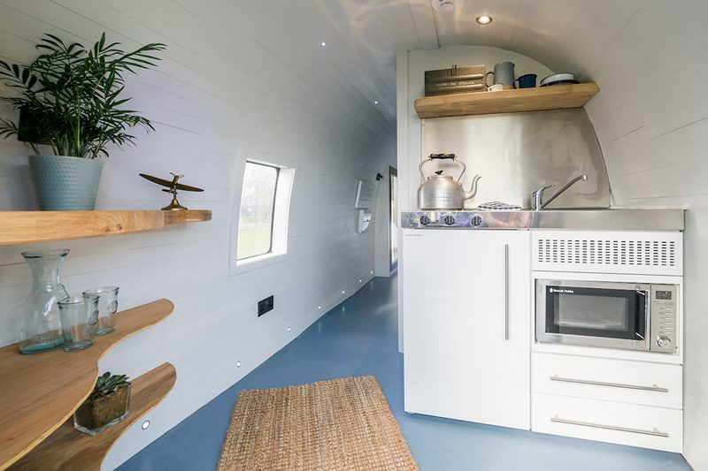 Sea King Helicopter Glamping Pod