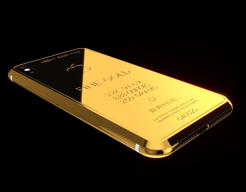 Brikk Lux iPhone X Ingot 250