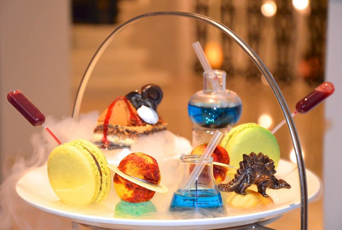 Science Afternoon Tea By The Ampersand Hotel