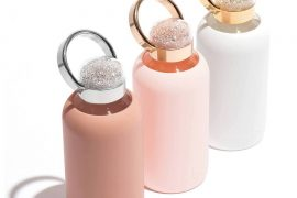 BKR Swarovski Crystal Water Bottles