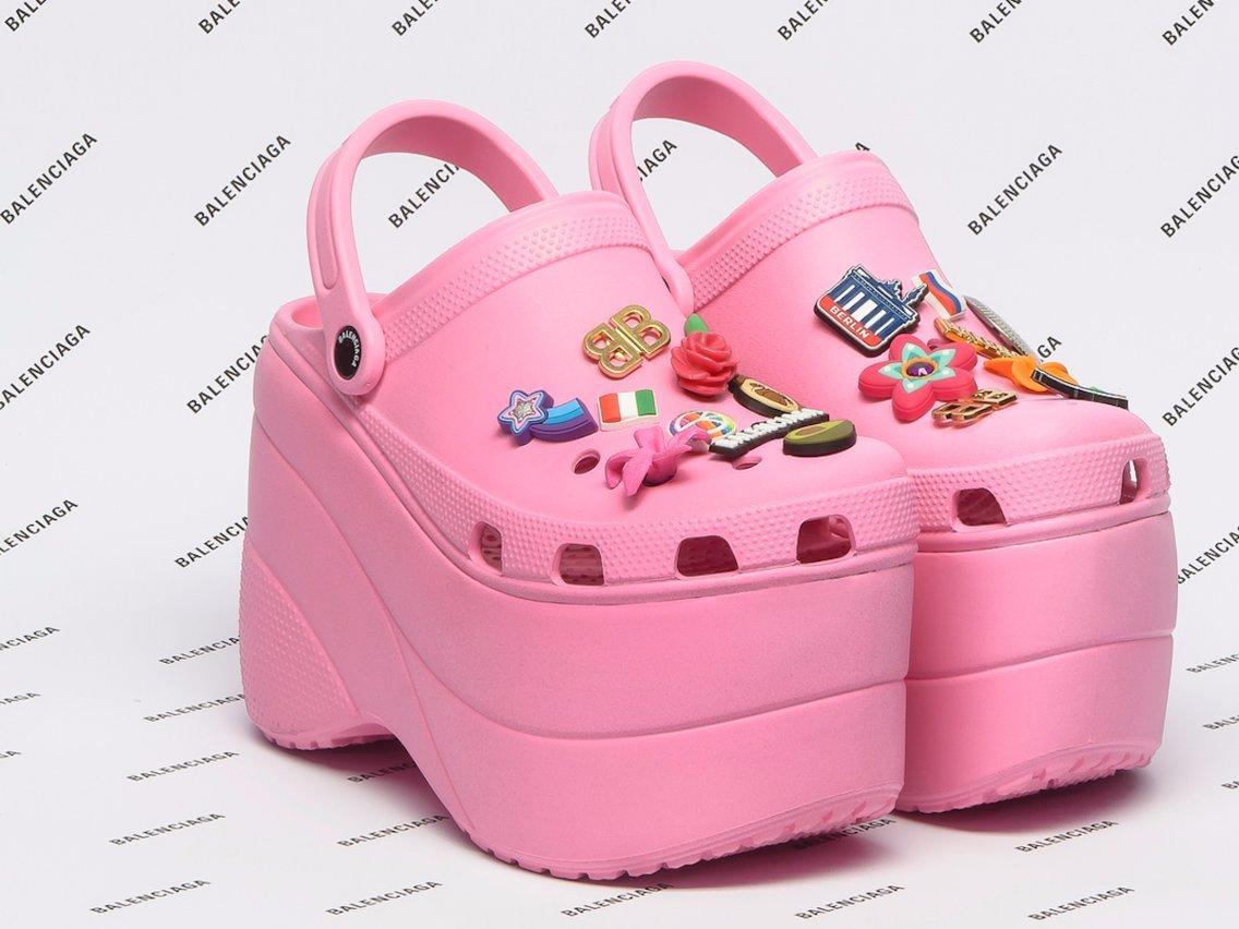 Balenciaga Foam Crocs