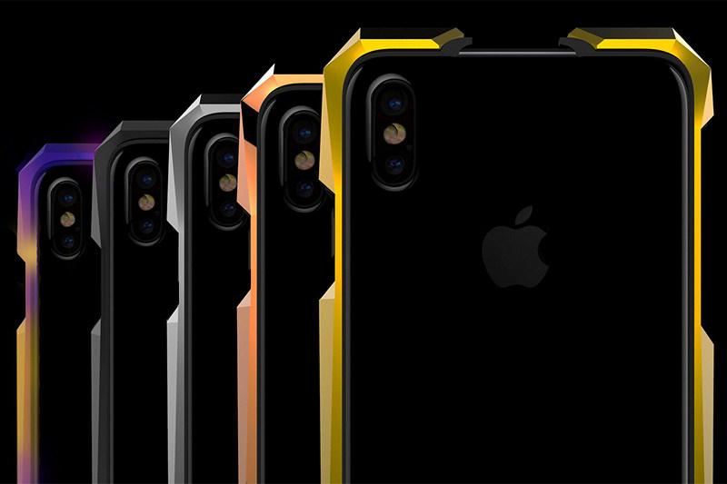 GRAY Advent Aurora iPhone X Case