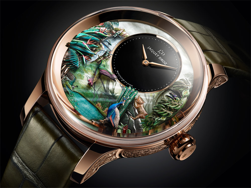 Jaquet-Droz Tropical Bird Repeater