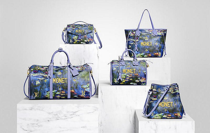 Jeff Koons-Louis Vuitton Collaboration