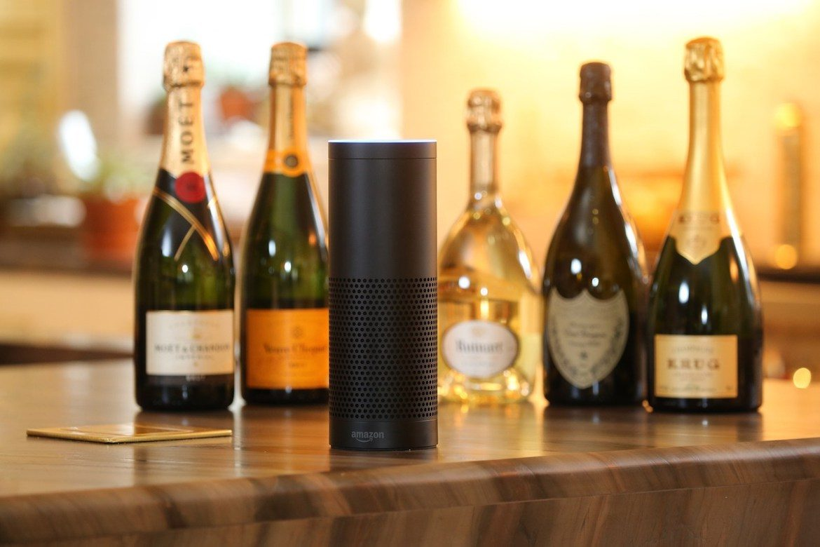 Moet Hennessy Amazon Alexa