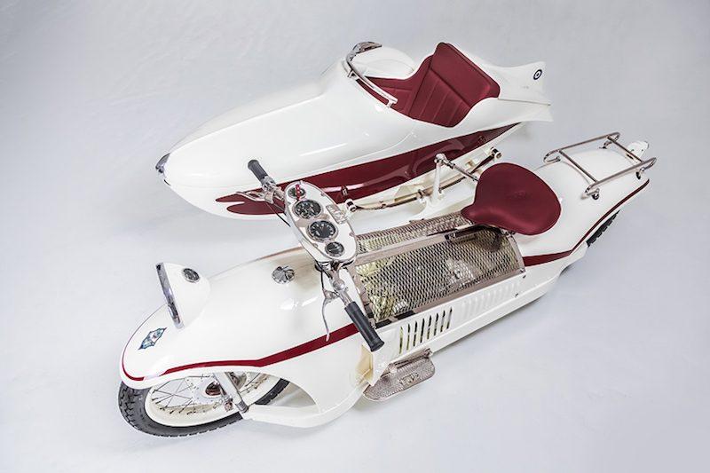 Majestic Bernadet Sidecar Motorcycle
