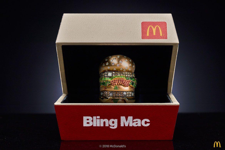 McDonald's BlingMac Ring