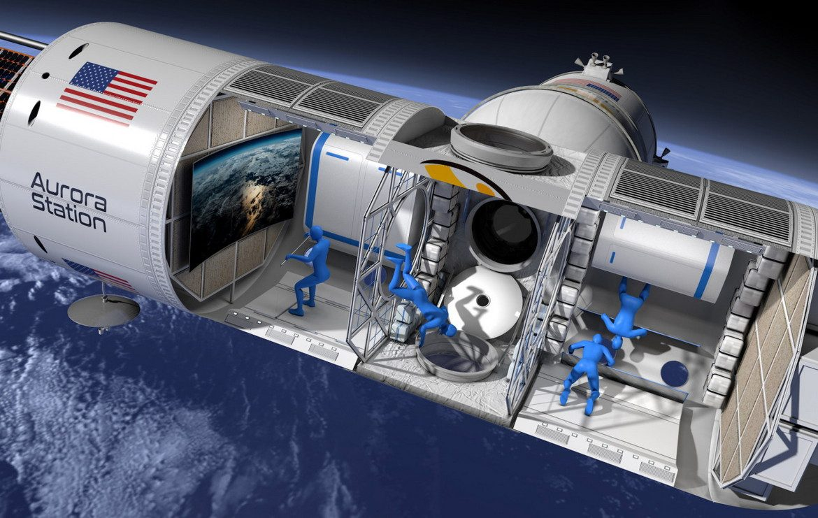 Aurora Station Space Hotel