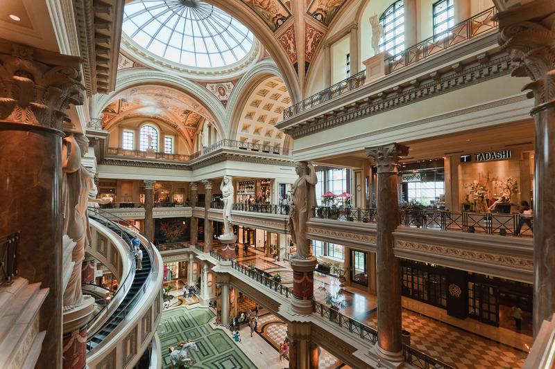 LasVegas Caesars Palace Mall
