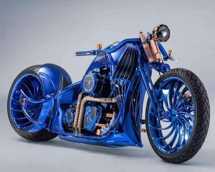 Harley Davidson Bucherer Blue Edition