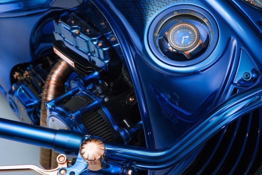 Harley Davidson Bucherer Blue Edition