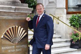 Mandarin Hyde Park Concierge Nigel Bowen
