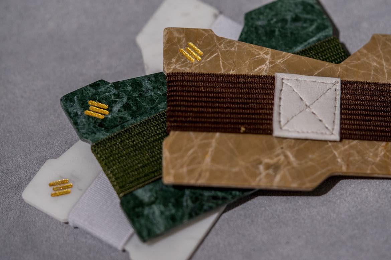 Mikolmami Marble Minimalist Wallet