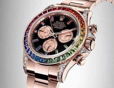 Rolex Cosmograph Rainbow Daytona