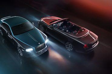 Rolls Royce Black Badge Adamas Collection