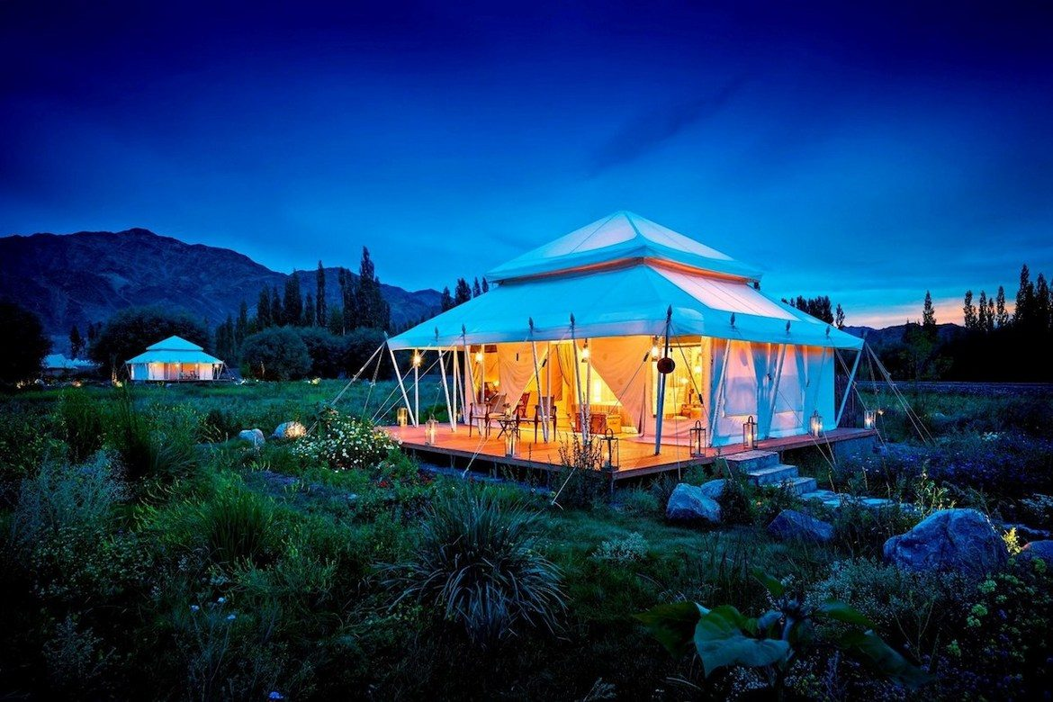 The Ultimate Travelling Camp Ladakh