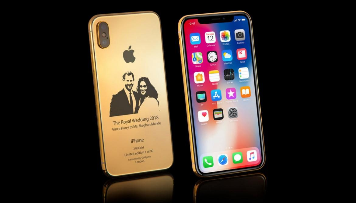 iPhoneX Royal Wedding