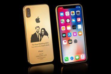 iPhoneX Royal Wedding