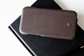 Vaja iPhone X Leather Case