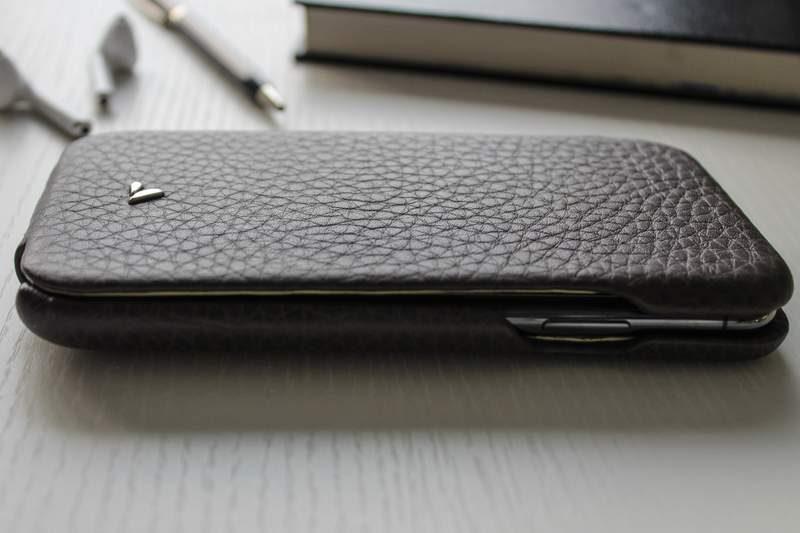 Vaja iPhone X Leather Case