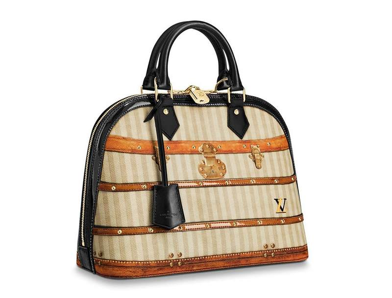 Louis Vuitton Time Trunk Alma Bag