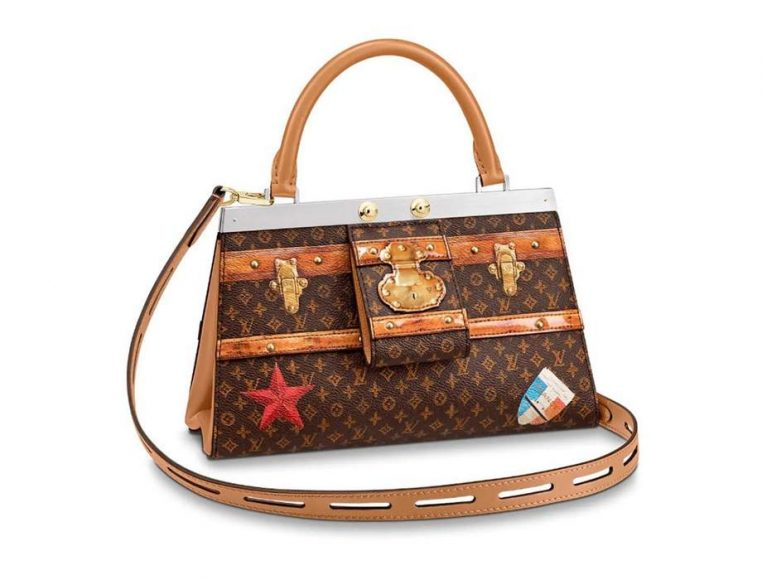 Louis Vuitton Time Trunk Crown Frame Bag